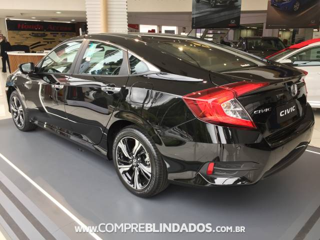 New Civic Preto 2018 Honda S 227 O Paulo C 243 D 15716